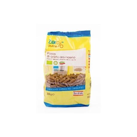 Tubetti di Grano Saraceno Bio - Zero% Glutine - FIOR DI LOTO