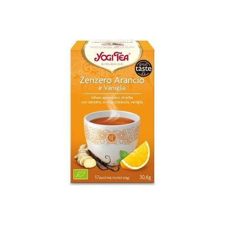 Zenzero Arancio Vaniglia Bio - YOGI TEA