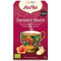 Zenzero Ibisco Bio - YOGi TEA