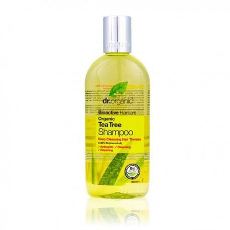 Organic Tea Tree Shampoo, 265 ml - DR ORGANIC