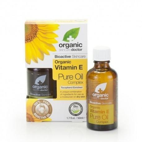 Organic Vitamin E - Pure Oil - DR ORGANIC
