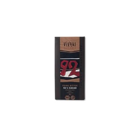 Cioccolato Fondente 92% - VIVANI