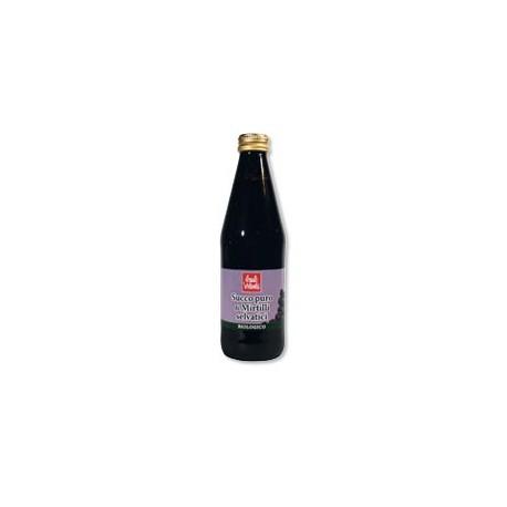 Succo Puro di Mirtilli Selvatici 330ml - BAULE VOLANTE