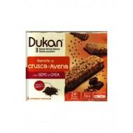 Barretta di Crusca D'avena Cioccolato e Semi di Chia - DUKAN