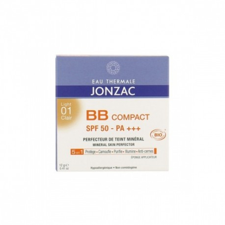 BB Compact SPF50 01 Clair - EAU THERMALE JONZAC