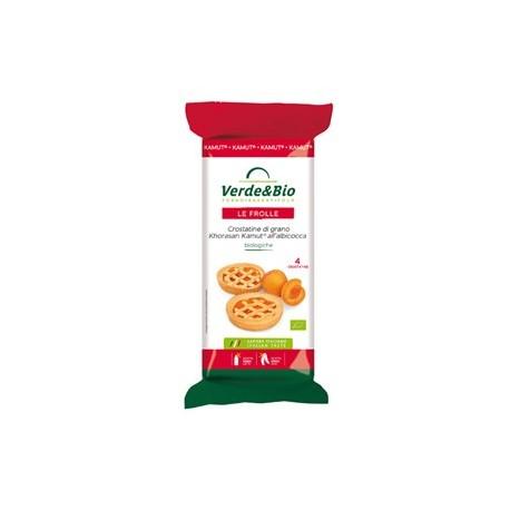 Crostatine di Kamut all'Albicocca - VERDE&BIO