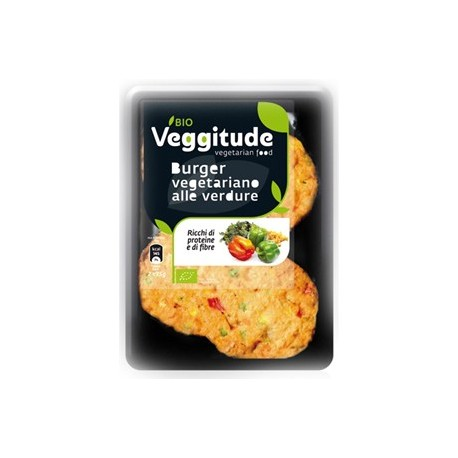 Burger Vegetariano alle Verdure - VEGGITUDE