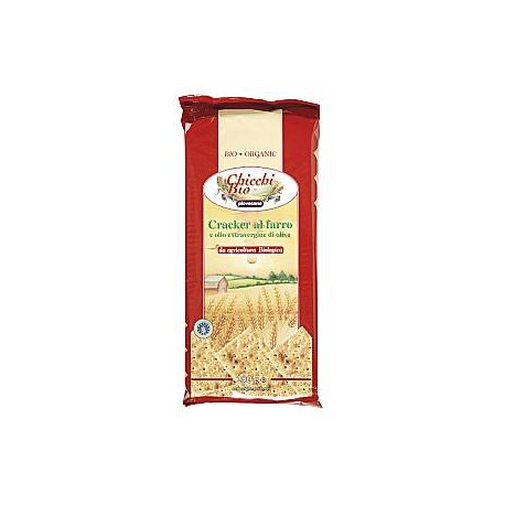 Crackers di Farro - CHICCHI BIO