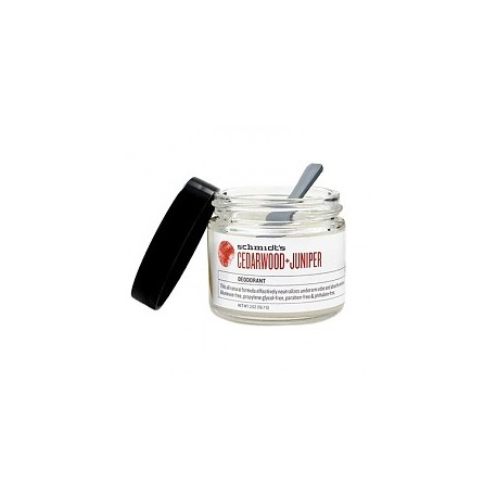 Cedarwood + Juniper Deodorant 56 gr - SCHMIDT'S DEODORANT