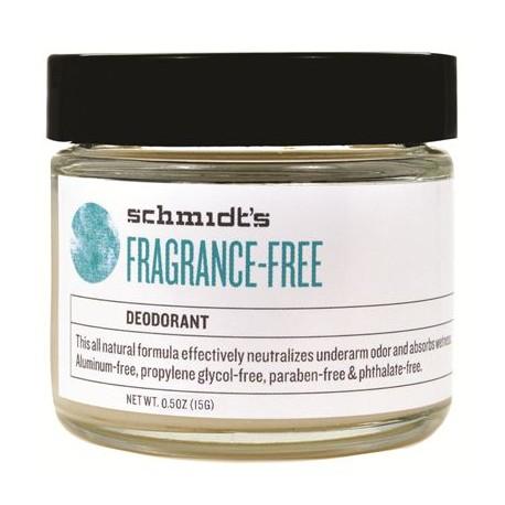 Fragrance-Free Deodorant 15 gr - SCHMIDT'S DEODORANT