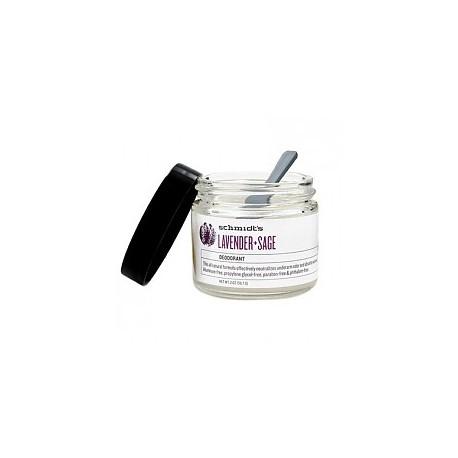 Lavender + Sage Deodorant 56 gr - SCHMIDT'S DEODORANT