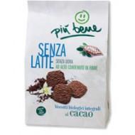 Biscotti Integrali al Cacao - PIù BENE