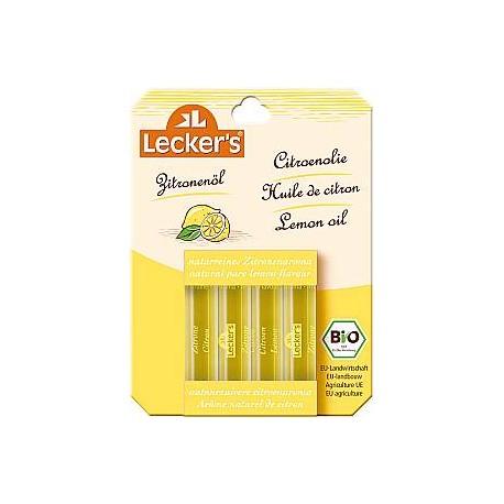 Aroma Naturale al Limone 4x2ml - LECKER'S