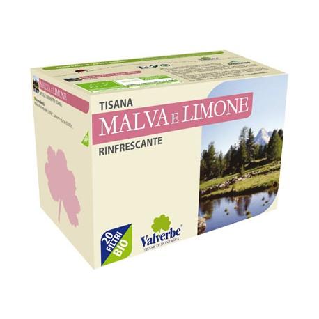 Tisana Malva e Limone - VALVERBE
