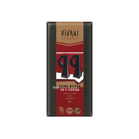 Dark With 99% Cacao - VIVANI