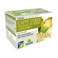 Tisana Caffè Verde,Ananas,Tè Verde e Zenzero - VALVERBE