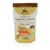Zuppa di Legumi e Farro -  ALCE NERO