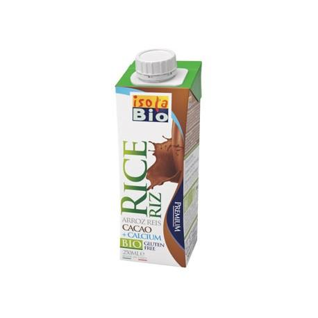 Riso Cacao con Calcio 250ml - ISOLA BIO