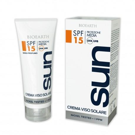 Crema Solare Viso - SPF 15 - BIOEARTH