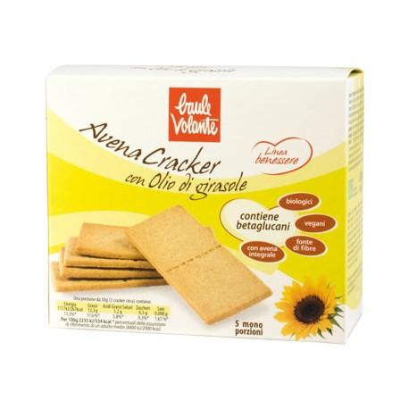 Avena Cracker con Olio di Girasole - BAULE VOLANTE