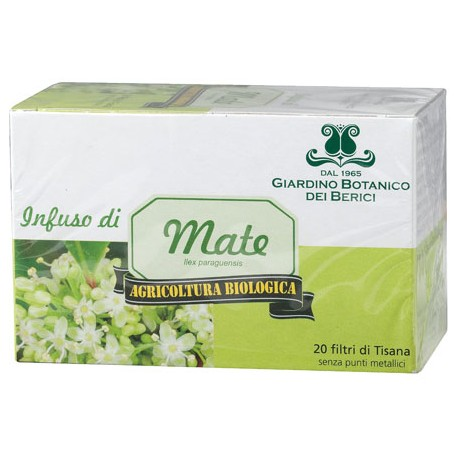 Infuso Matè - GIARDINO BOTANICO DEI BERICI