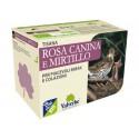 Tisana Rosa Canina e Mirtillo - VALVERBE