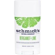Stick Bergamot + Lime Deodorant - SCHMIDT'S DEODORANT