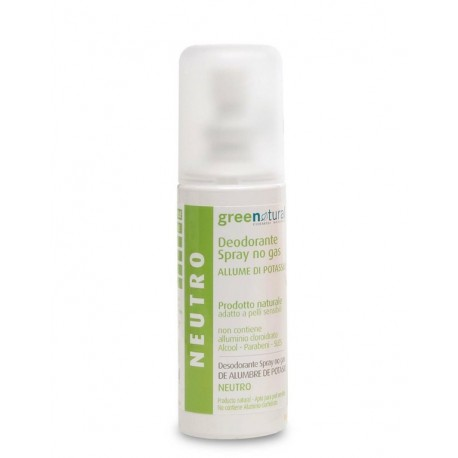Deo Spray Allume Di Potassio - Neutro - GREENATURAL