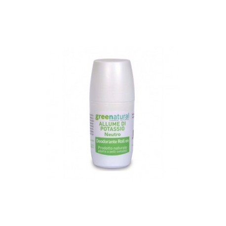 Deodorante roll-on - Allume di potassio - Neutro  - GREENATURAL