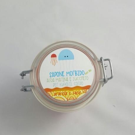 Sapone Morbido Arancione Ermetico  - MEDUSA