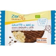 Gallette di Mais con Cioccolato al Latte - FIOR DI LOTO