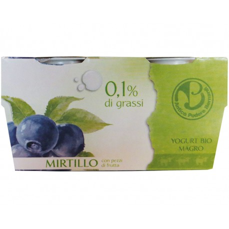 Yogurt Magro al Mirtillo - ANTICO PODERE BERNARDI