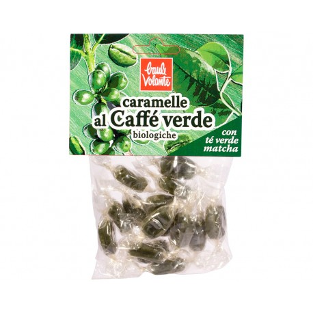 Caramelle Al Caffè Verde - BAULE VOLANTE