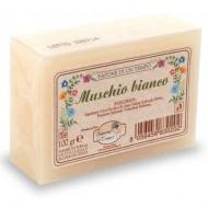 Saponetta 100 gr Muschio Bianco - SAPONE DI UN TEMPO