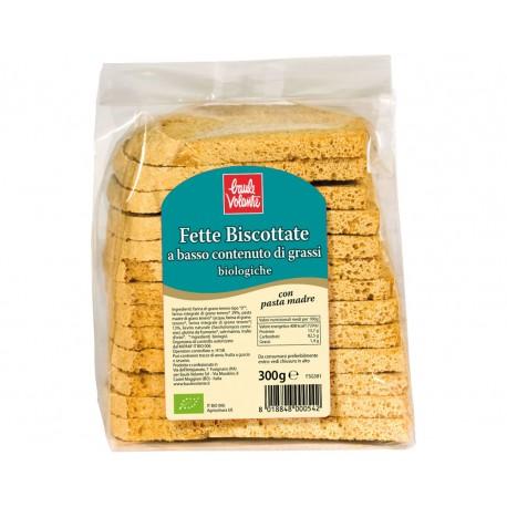 Fette Biscottate a Basso Contenuto di Grassi - BAULE VOLANTE