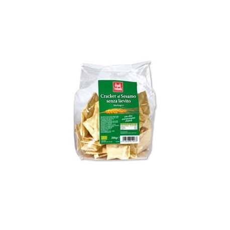 Cracker al Sesamo senza Lievito - BAULE VOLANTE