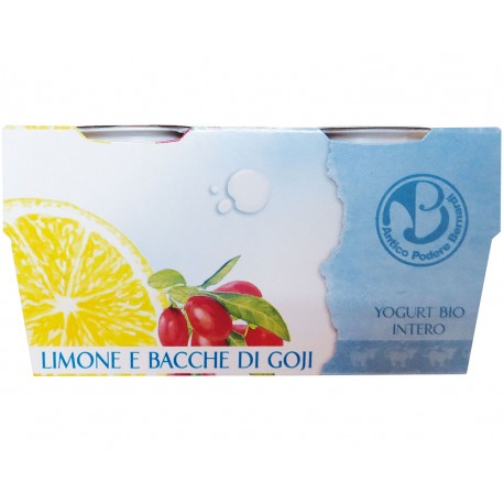 Yogurt Limine e Bacche di Goji - ANTICO PODERE BERNARDI