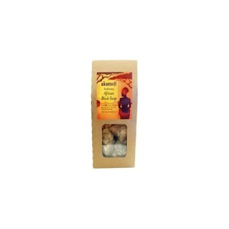 Africa Black Soap Crumble 130g - AKAMUTI