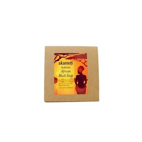 African Black Soap 500gr - AKAMUTI