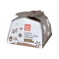 Corolla di Farro con Cocco e Cioccolato Fondente-  BAULE VOLANTE