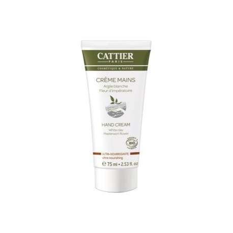 Crema Mani Ultra-Nutriente - Argilla Bianca - CATTIER PARIS