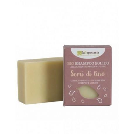 Shampoo Solido Ai Semi Di Lino- LA SAPONARIA