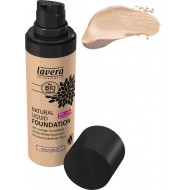 Natural Liquid Foundation 01- LAVERA