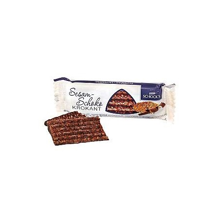 Croccante sesamo ricoperti di cioccolato - SCHOCK