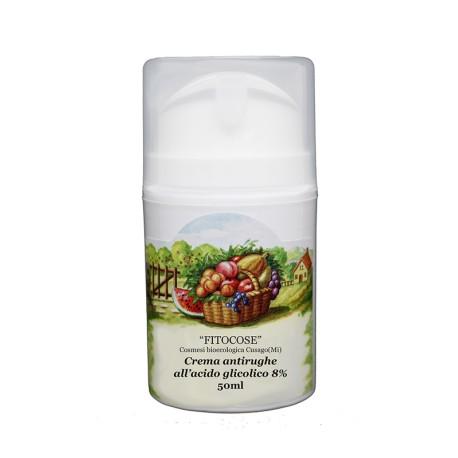 Crema antirughe all'Acido Glicolico 8% - FITOCOSE