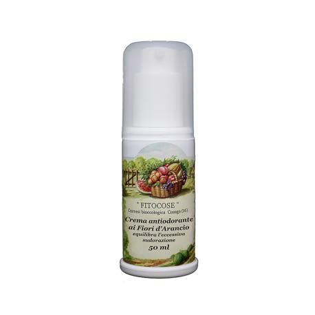 Crema antiodorante Fiori Arancio - FITOCOSE