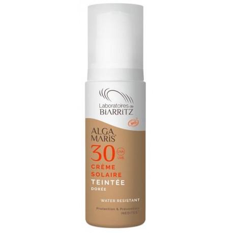 Crema Solare Viso Colorata Dorè SPF 30   50 ml - ALGA MARIS