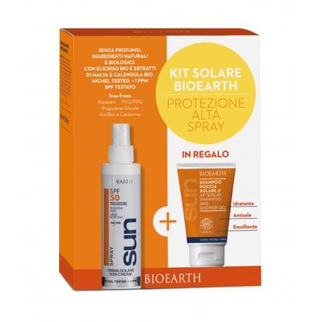 Sun Kit Crema Spray SPF 50 + Shampoodoccia - BIOEARTH