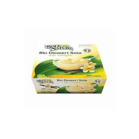 Dessert di Soja alla Vaniglia - SOLE NATURA