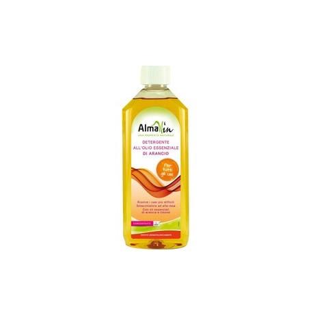 Detergente Concentrato all'olio Essenziale d'arancio - ALMAWIN